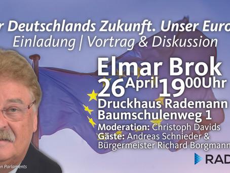 Auftakt zum Europswahlkampf! Sie sind eingeladen!