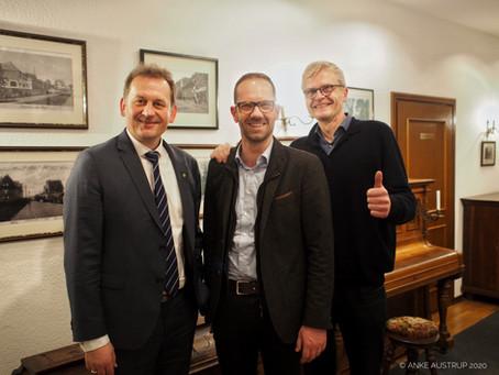 Ansgar Mertens stellt sich den CDU-Jubilaren vor