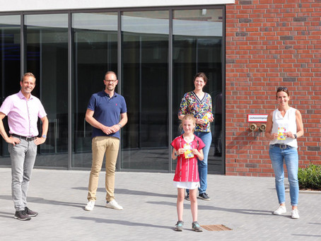 Kinder machen Lüdinghausen bunter