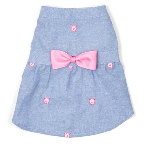 Wilbur Pig Chambray Dress