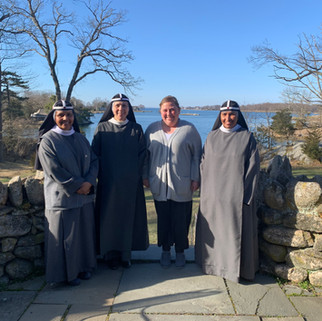 The Sisters and Novice in Ohio March 2021