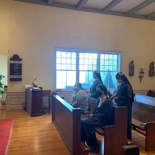 Sisters Renewal of their Vows