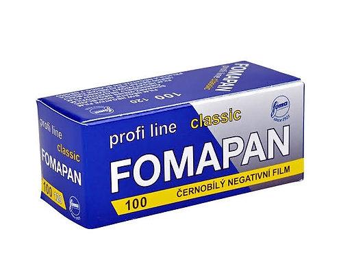 Filme Fomapan Classic ISO 100 - 120