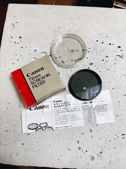 Filtro Polarizador Canon 72mm - L