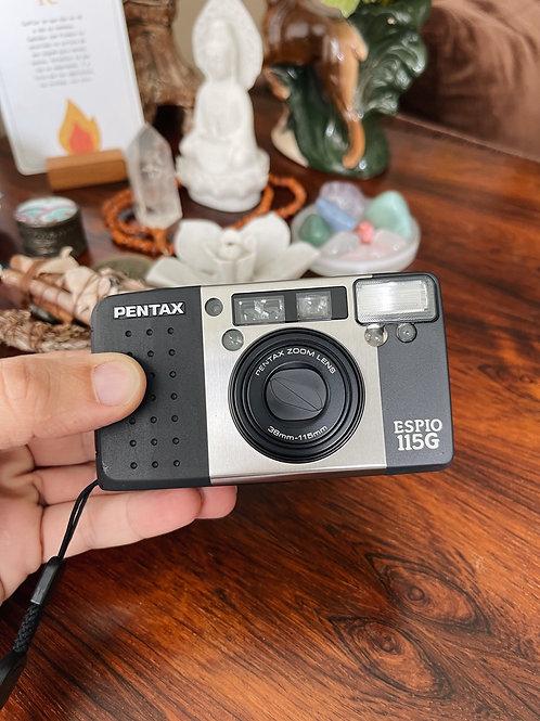 Câmera Pentax Espio 115 G