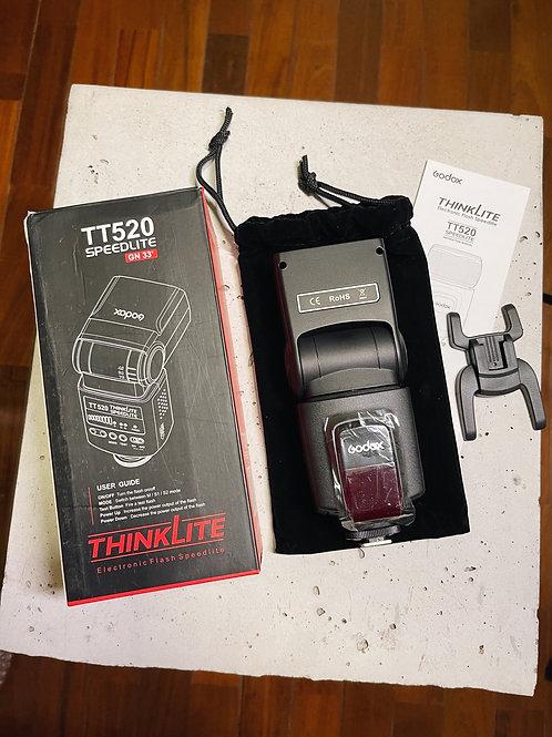 Flash Godox TT520 - Canon, Nikon, Pentax, Olympus, outras