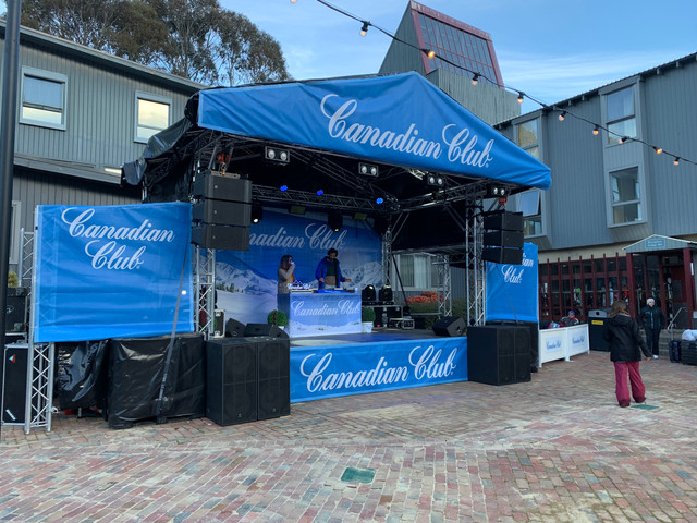 Thredbo & Canadian Club First Base Concert