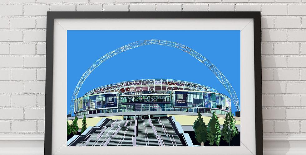 Wembley Stadium, North West London