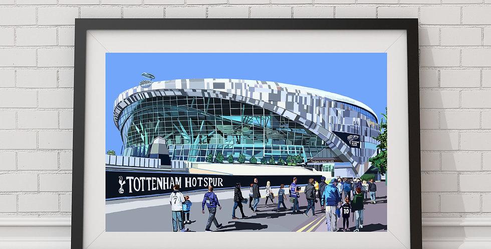 Tottenham Hotspur Stadium (Spurs Stadium), White Hart Lane, North London, N17
