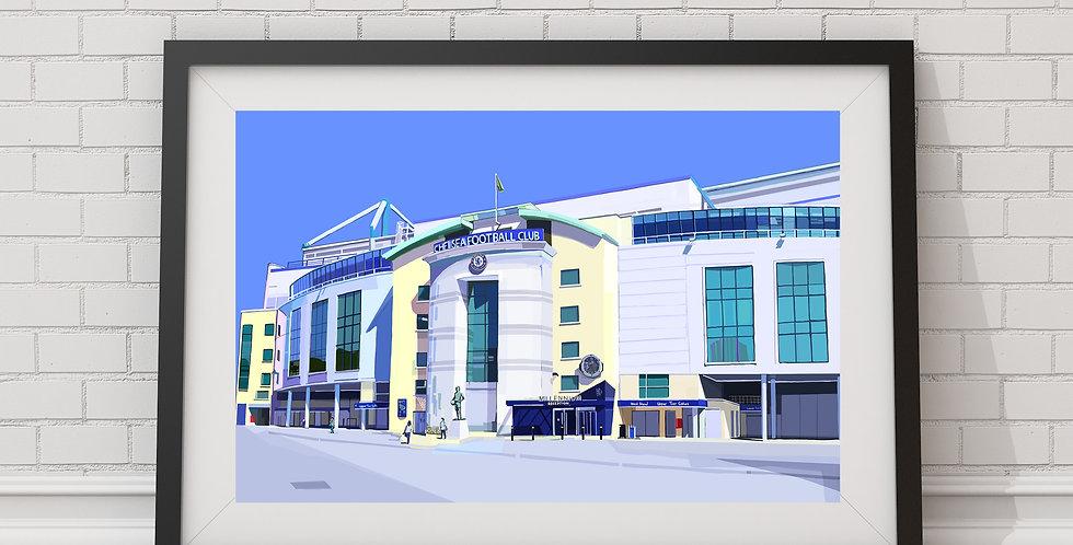 Stamford Bridge, Chelsea FC Stadium, West London