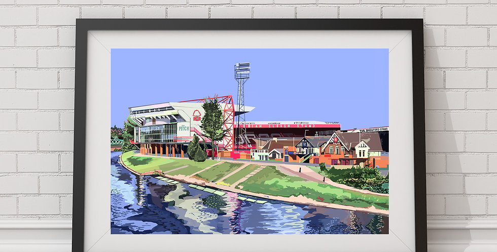 The City Ground, Nottingham Forest FC Stadium