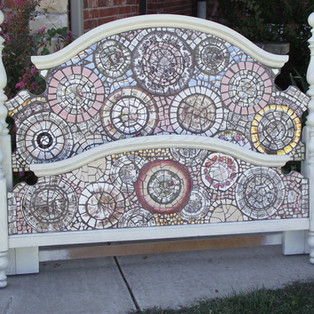 Mosaic Headboard and Footboard