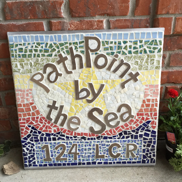 PathPoint by the Sea Sign, Cape Cod MA