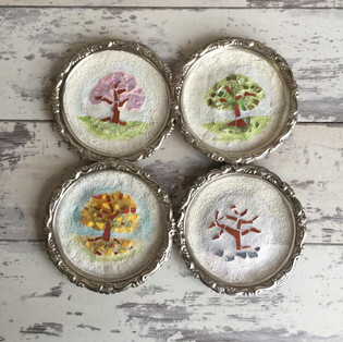 Four Seasons Trees Minatures