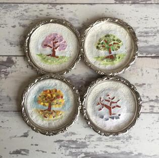 Four Seasons Trees Minatures