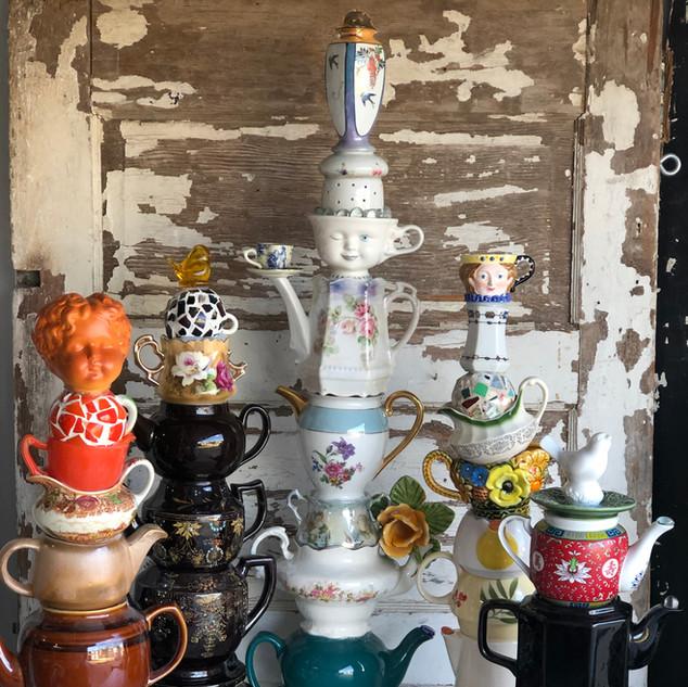 Teapot Towers