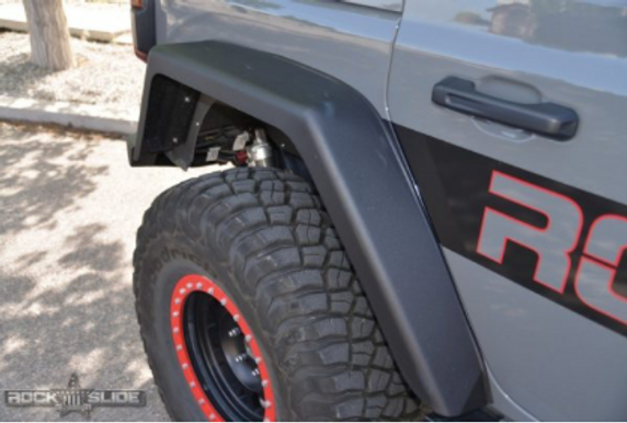 ROCK SLIDE REAR FENDER FLARES | WRANGLER JL FULL LENGTH