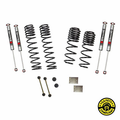 SJ -Wrangler JL 4-Door 4WD 1-1.5 in. Dual Rate-Long Travel Lift Kit System with
