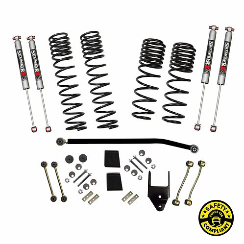 SJ - Wrangler JL 2-Door 4WD 3.5 in. Dual Rate-Long Travel Lift Kit System with M
