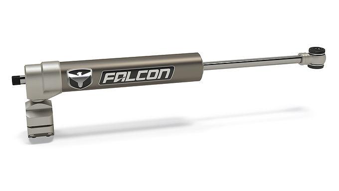 JK: Falcon Nexus EF 2.1 Steering Stabilizer – Stock Tie Rod – RHD