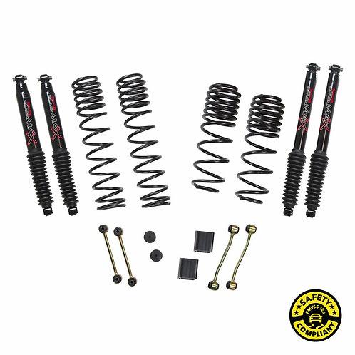SJ - Jeep Wrangler JL 2-Door 4WD 2-2.5 in. Dual Rate-Long Travel Lift Kit System