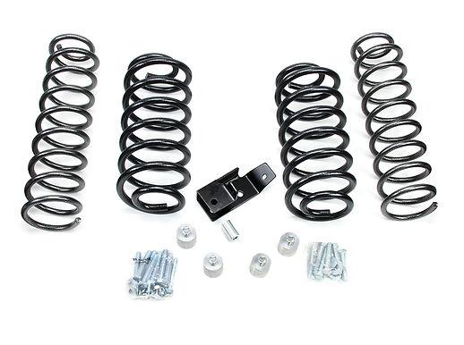 """TJ: 2"""" Coil Spring Lift Kit – No Shocks"""