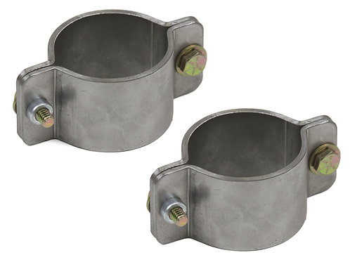 """2-1/4"""" Machined Tube Clamp with mounting tab"""
