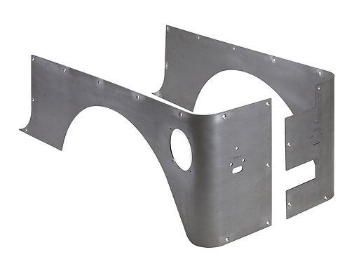 TJ - Corner Guards Stretch Wheel, Steel