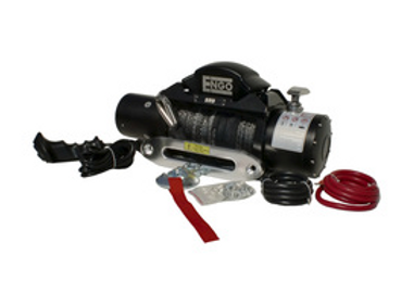 ENGO 9,000 LBS. SRS-SERIES WINCH | SYNTHETIC ROPE WITH ALUMINUM HAWSE