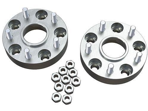 """JK: 1.25"""" Wheel Offset Adapter Kit – 5x5"""" to 5x5"""" – Pair"""