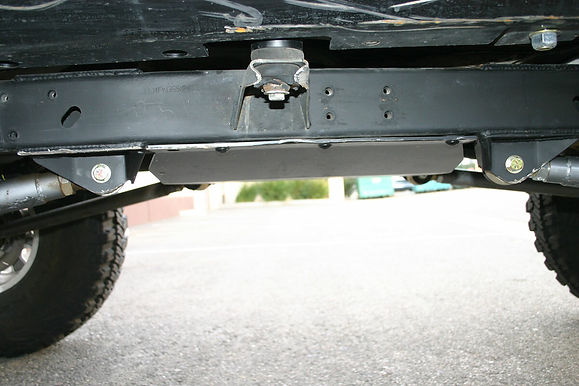 YJ Belly Up Transfer Case Skid Plate, Steel