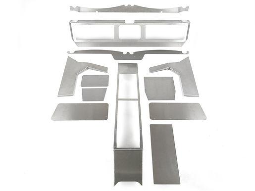 Aluminum JK Dash w/Terremoto cutout panels