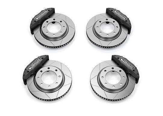"""TeraFlex - Delta Brake System (Front & Rear) – 8x6.5"""" SKU 4403480"""