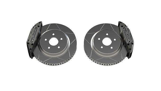 "Delta Front Brake Kit – 5x5"""