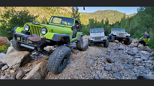 Submerged Trail Rides/Rockcrawling