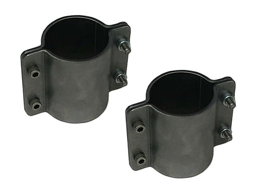 """1-1/2"""" Formed Tube Clamp, double wide"""