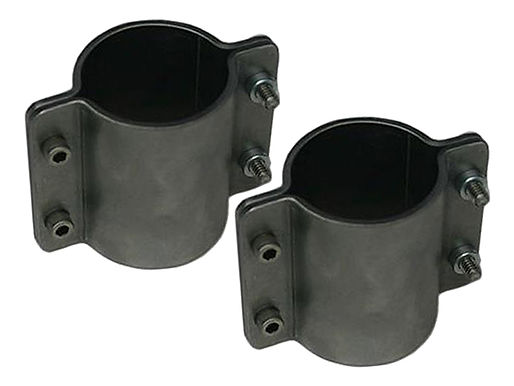 """2-1/4"""" Formed Tube Clamp, double wide"""