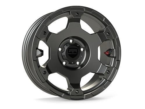 "Nomad Off-Road Wheel – Base – 5x5"" – Titanium Gray – Each"
