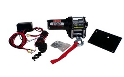 ENGO 3,000 LBS. 12 VOLTS ELETRIC WINCH | USES DYNAMIC BRAKING