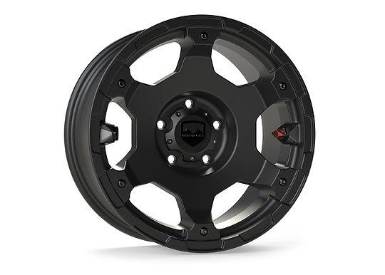 "Nomad Off-Road Wheel – Base – 5x5"" – Metallic Black – Each"