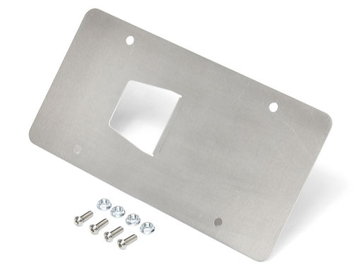 Front License Plate Mount, D-ring style