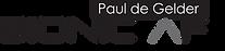 PAUL DE GELDER BIONIC AF TRAVEL BCD LOGO