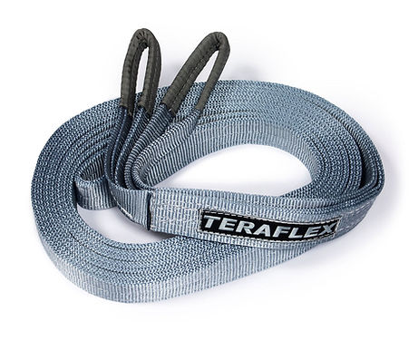 "TeraFlex Recovery Tow Strap w/ 20,000-lb. rating – 30' x 2"""