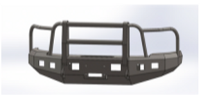 ENGO BUMPER WITH FULL GRILL GUARD