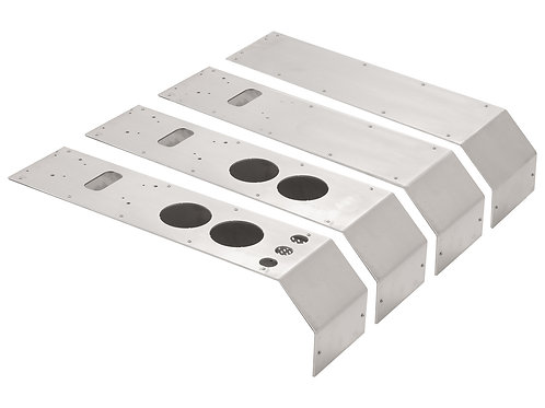 Narrow Center Console - BLANK plates