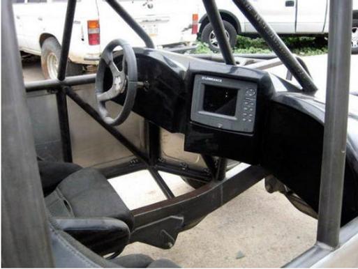 FIBERWERX MID SIZE DASH W/BUILT IN GPS