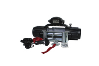 ENGO 10,000 LBS. XR-SERIES WINCH | STEEL CABLE WITH ROLLER FAIRLEAD, IP68 RATING