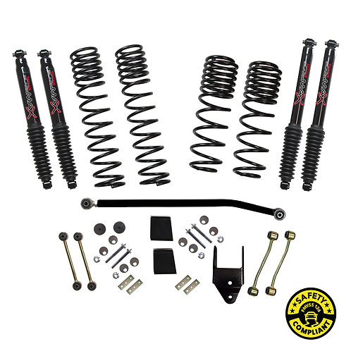 SJ - Wrangler JL 4-Door 4WD 3.5-4 in. Dual Rate-Long Travel Lift Kit System with