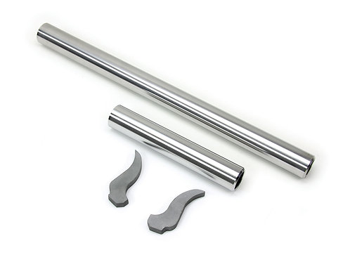 JK: Front Axle Inner Sleeve & Front Upper Inner Knuckle Gusset Kit