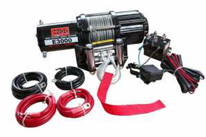 ENGO 3,000 LBS. 12 VOLT ELETRIC WINCH TO ATV/UTV